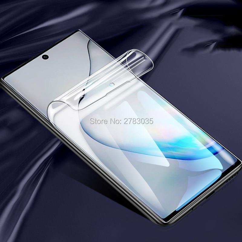 Fr Samsung Galaxy S20 Ultra S10 S9 S8 S7 Note Edge 10 Plus 5G 9 8 прозрачный ТПУ Матовый гидрогель полное покрытие мягкая защитная пленка для экрана