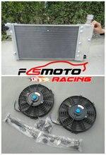 Алюминиевый радиатор + кулер вентилятор для PEUGEOT 106 GTI & RALLYE/CITROEN SAXO/VTR 1991 2001 1992 1993 1994 1995 1996 1997 1998 99 00 01