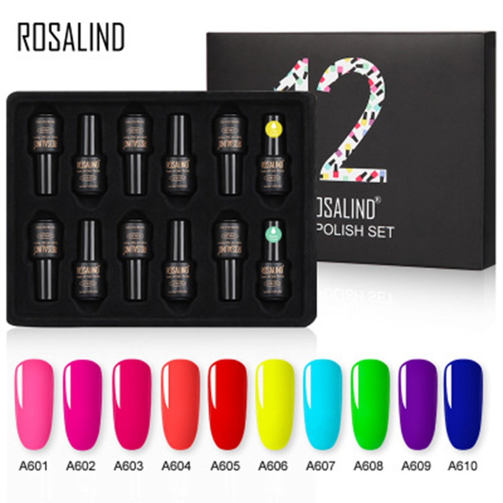 Quente s 12 garrafas/conjunto cor de néon unhas gel verniz prego conjunto brilhante gel unha verniz fluorescente dramática manicure arte do prego
