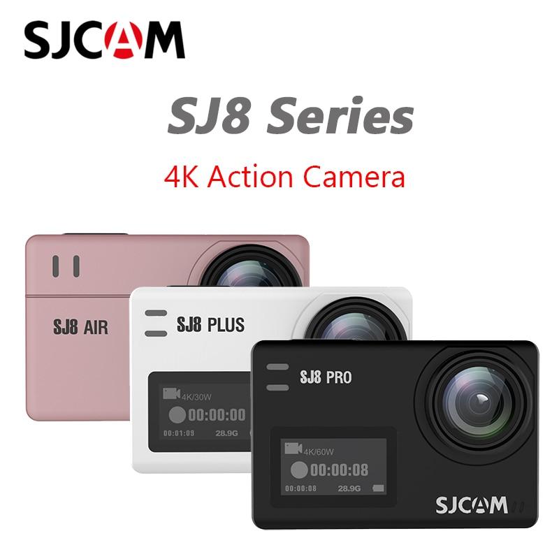 SJCAM SJ8 серия экшн-камер SJ8 Air & SJ8 Plus & SJ8 Pro 1290P 4K камера WIFI дистанционное управление Водонепроницаемая SJ cam Спортивная DV