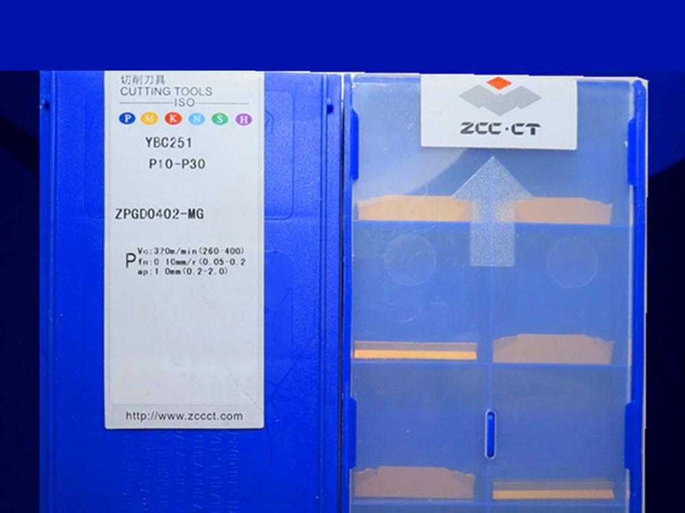 ZPGD0402-MG YBC251 caribde إدراج 10 قطعة
