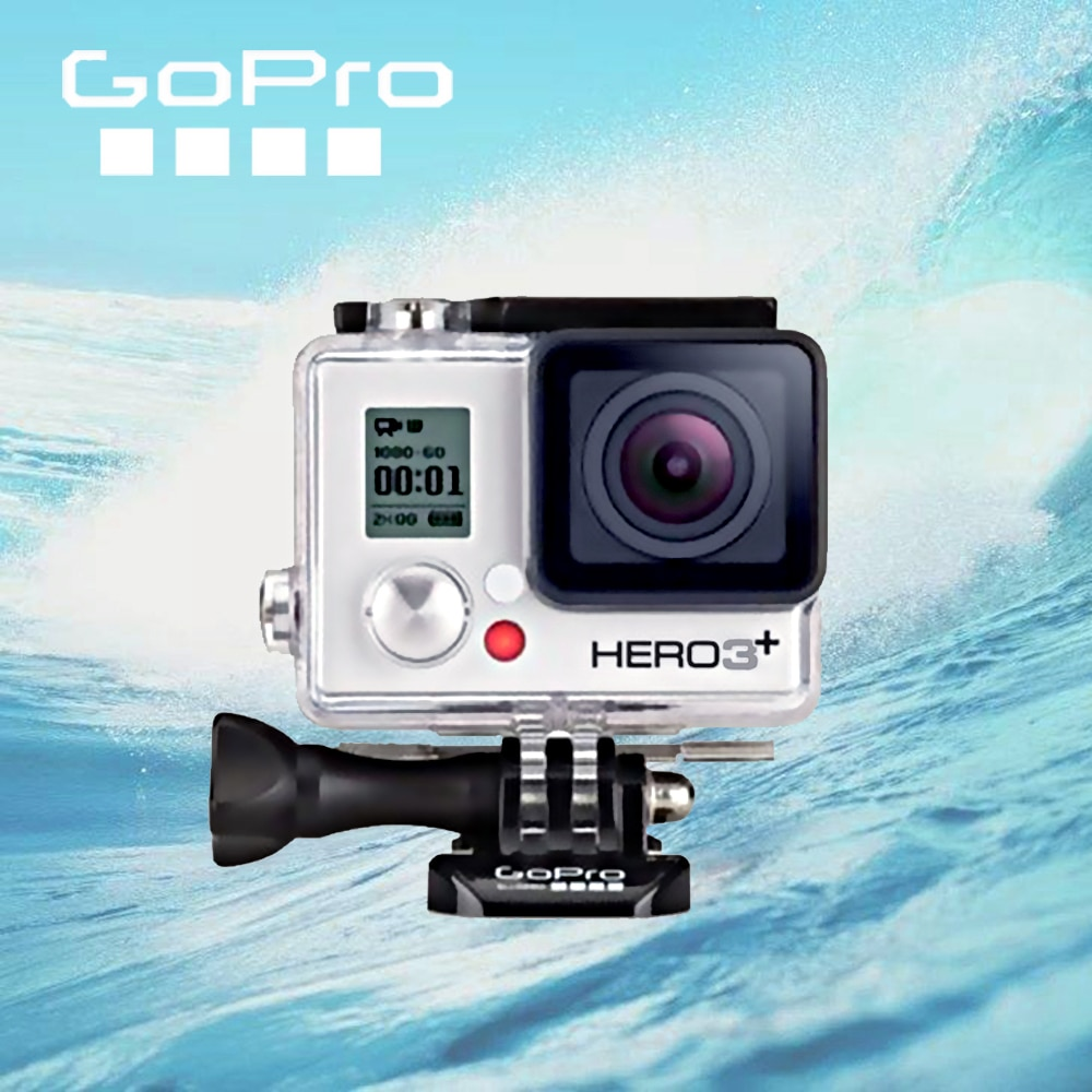 Gopro HERO 3 + серебристая Экшн-камера для спорта на открытом воздухе с Ultra HD видео gopro 3 +