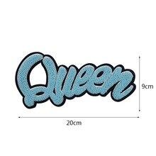 GUGUTREE parches bordados para toalla big queen parches love r insignias apliques, parches para ropa YYX-19121090