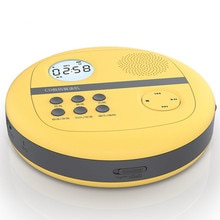 CD walkman mit lautsprecher schiefen maschine disc U disk TF card player MP3 audio horn tragbare HiFi musik led-bildschirm usb lautsprecher