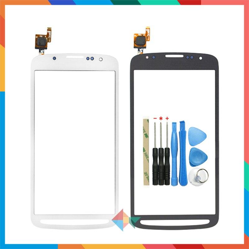 "Alta calidad 5,0 ""para Samsung Galaxy S4 Active I9295 pantalla táctil digitalizador cristal frontal lente Sensor Panel + herramienta"