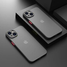 YYDS Luxury Matte Transparent TPU Square Phone Case For iPhone 13 12 11 Pro Max Mini XS XR X 8 7 Plu