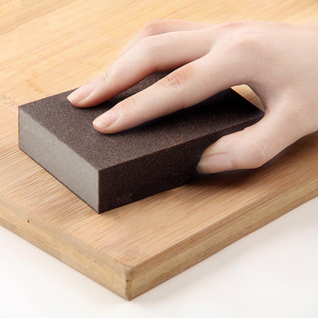 Nueva esponja de esmeril, cepillo de limpieza de cocina, herramienta de limpieza de óxido