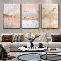 Peintures a lhuile abstraites sur toile  peintes a la main  decoration moderne de mariage  images murales de paysage  decoration de maison  sans cadre  100