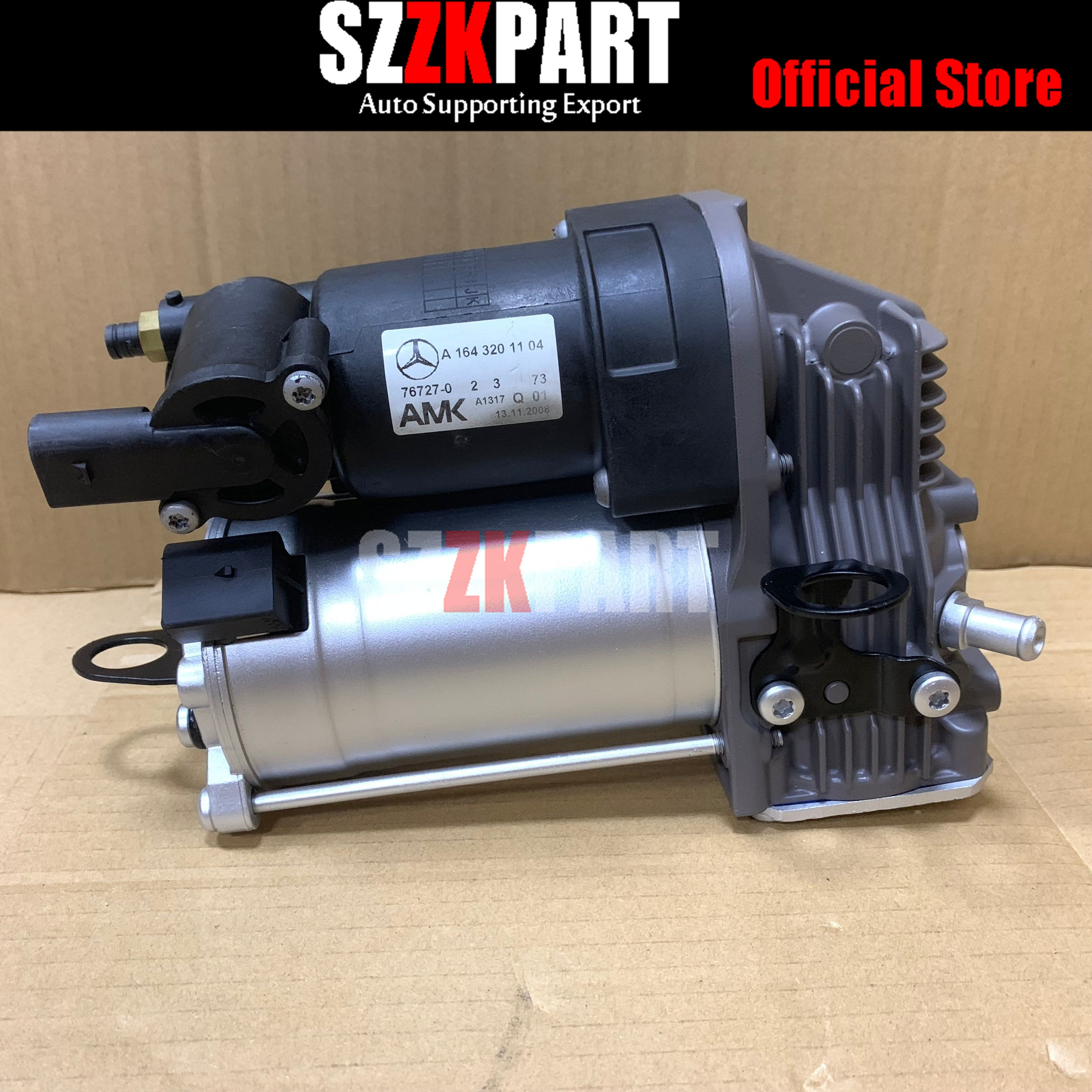 AP02 Air Ride Suspension Compressor Pump For Mercedes-Benz GL X164 ML W164 1643200304 1643200504 1643200904 A1643200504