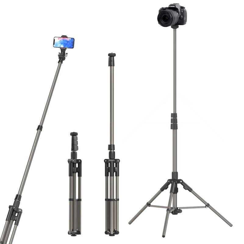 Estúdio ao Vivo Luz de Vídeo Ulanzi Suporte 4 Stand Tripod Tripé Monopé Selfie Luz Stream Acessórios Mt-38 1 –