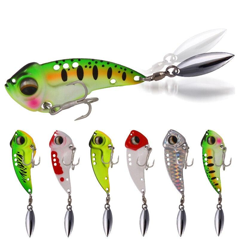 Novedad de 2020, señuelo de pesca de VIB de Metal de 8,5G, 5g y 17g, cebos duros con cuchara vibratoria, Wobbler señuelo, aparejo de Cicada VIB