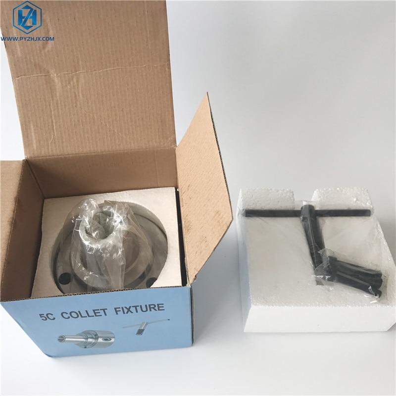 Lathe 5C Collet Chuck D4 Tools Holder CNC Milling Machine Tools enlarge