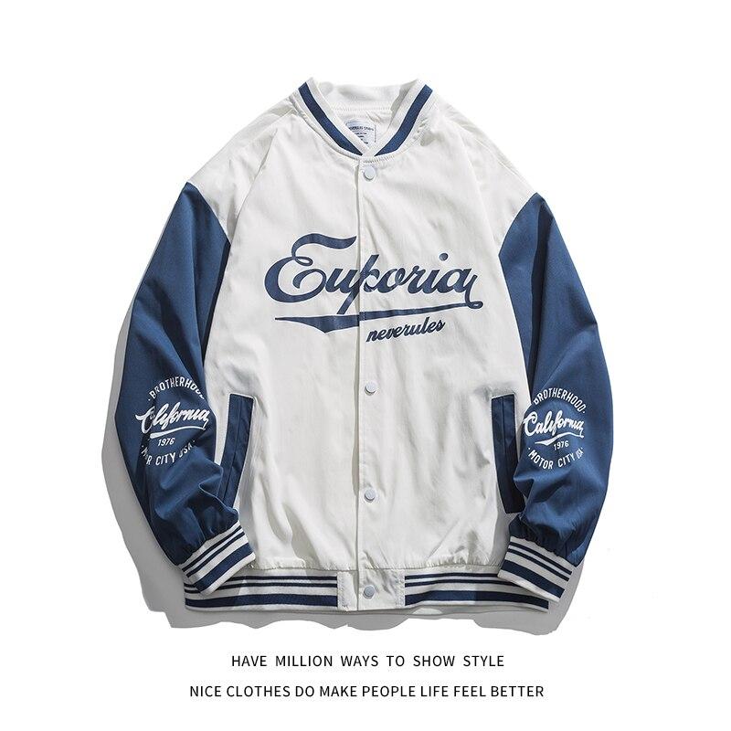 Новинка 2021, весенне-осенняя тонкая свободная бейсбольная куртка большого размера, мужская куртка-бомбер, Женская куртка в стиле бойфренда, ...
