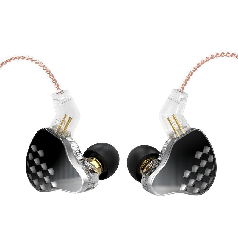 AK KBEAR Robin 10 Units DD+4 BA Hybrid Dynamic Earphones  Headphone Earbuds Headset In Ear Monitors IEM Lark Ks1 CCZ TRI blon enlarge