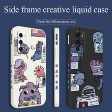 Inverted Monster Case For Huawei P40 P40Lite P30 P20 Mate 40 40Pro 30 20 Pro Lite P Smart 2021 Y7a L