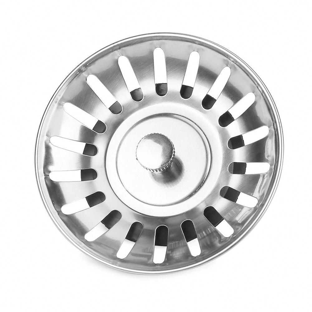 Cocina de acero inoxidable fregadero Filtro de residuos tapón de desagüe tapón en forma de cesta herramientas de filtro _ WK