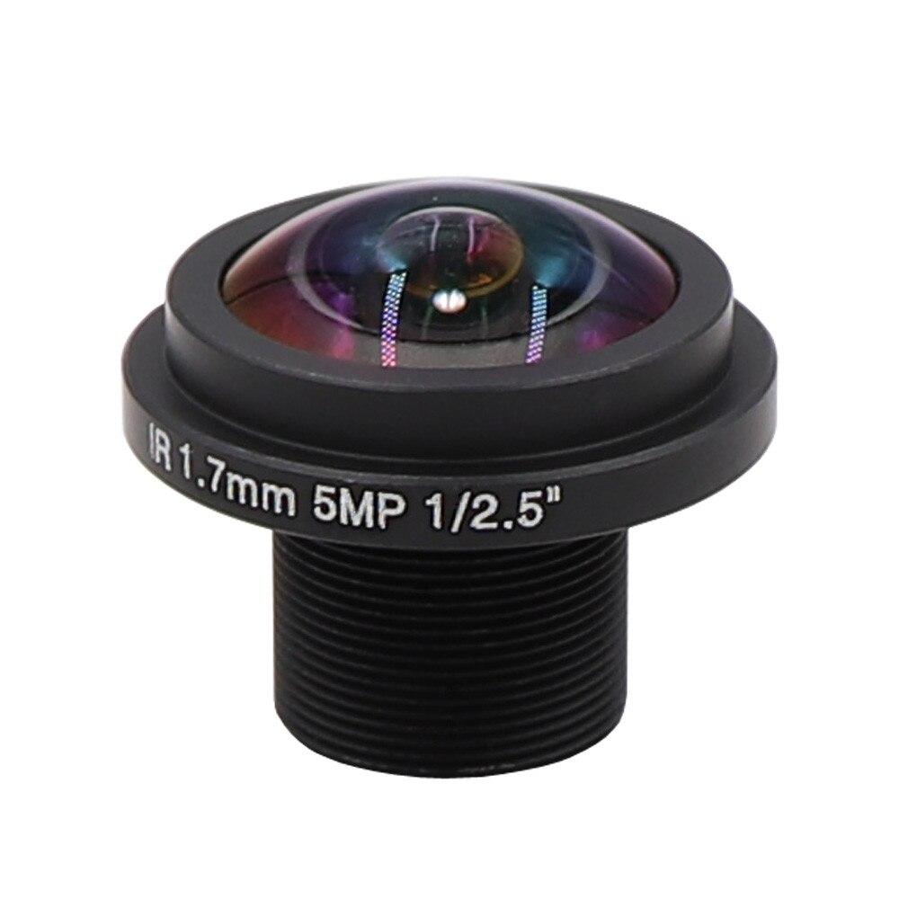 Lente ojo de pez de 1,7mm con filtro IR de 850nm