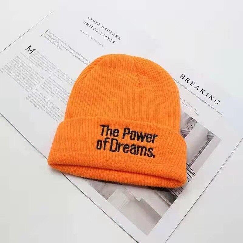 Шапка-бини с вышивкой и надписью для женщин и мужчин, зимние шапки для женщин и девушек, 2021, шапочки, вязаные зимние шапки унисекс для женщин, ...