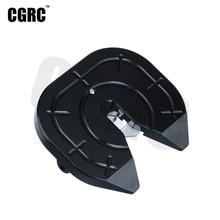 Carro rc metal acoplador discos de moagem para 1/14 tamiya reboque arrastar caminhão 3363 56348 56352 actros scania r620 atualizar peças