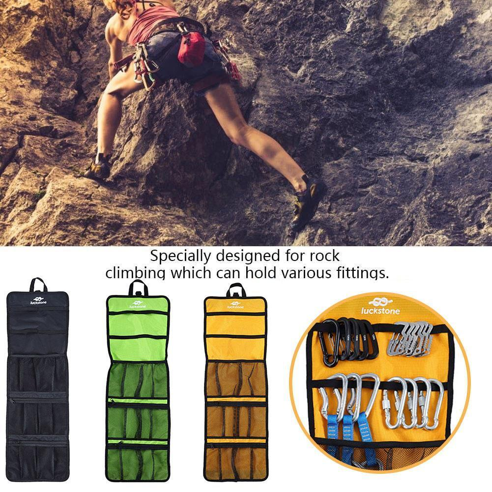 Outdoor Climbing Rope Hook Storage Bag Climbing Equipment Organizing Tool Bag Bag Bag Buckle P7O7