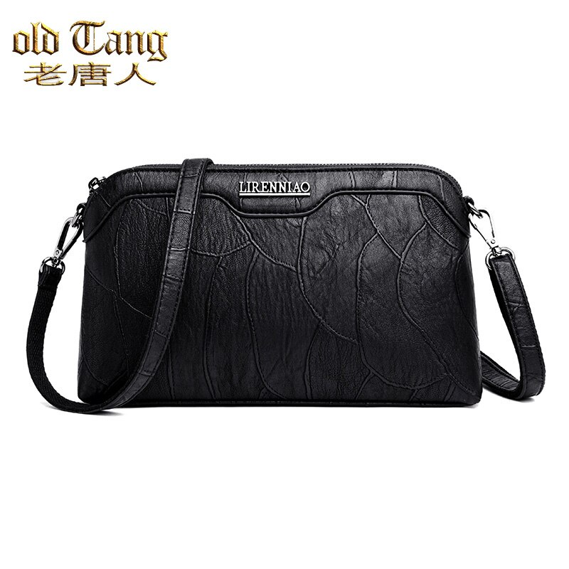 OLD TANG High Quality Shoulder Messenger Bags For Women 2020 Lady Casual Concise Crossbody Bag PU Le