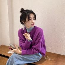 Women Cardigans Autumn Winter Warm Loose Knitted Jacket Button Basic Sweaters Ladies Elegant Cardiga