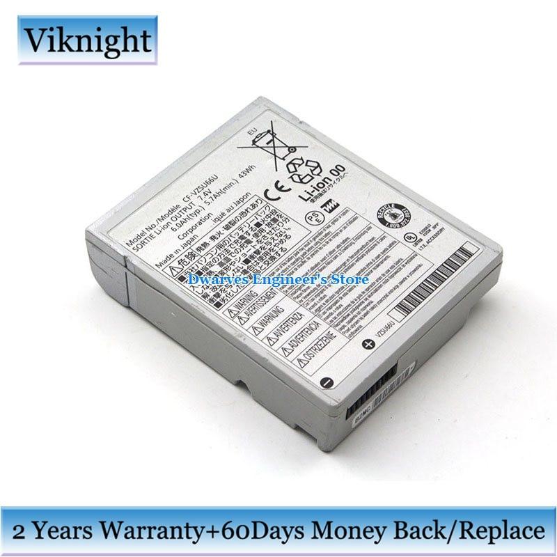 Оригинальный аккумулятор CF-VZSU66U для Panasonic Toughbook CF-C1 VZSU66 7,4 V 43Wh 6Ah