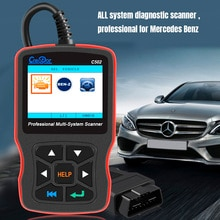 Диагностические инструменты Creator C502 OBD2 для W203, сканер OBD2 для Mercedes Benz W211, автомобильный диагностический сканер с поддержкой ABS, подушки безопасности OBD 2