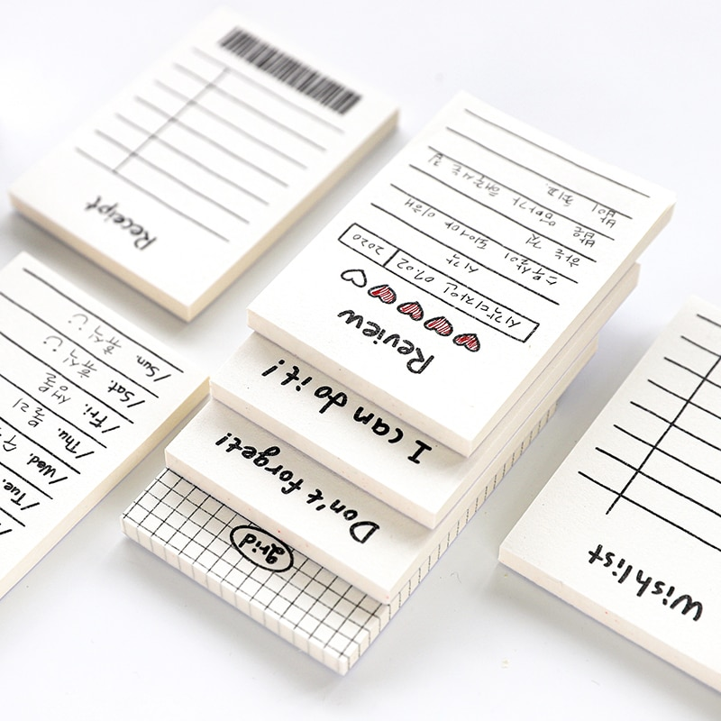 AliExpress - 50 Sheets Creative Daily Schedule Memo Pad To Do List Don't forget Weekly Schedule Planner Office School Supplies No Stickiness