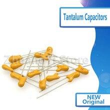 10 PCs/Lot ligne condensateurs au tantale 16V/25V1/2.2/4.7/22/47/100UF 68/220uf tantale capacitif 106H