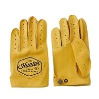 spring autumn mens genuine leather gloves full finger breathable cowhide motorcycle gloves for men workout driving gloves nr49