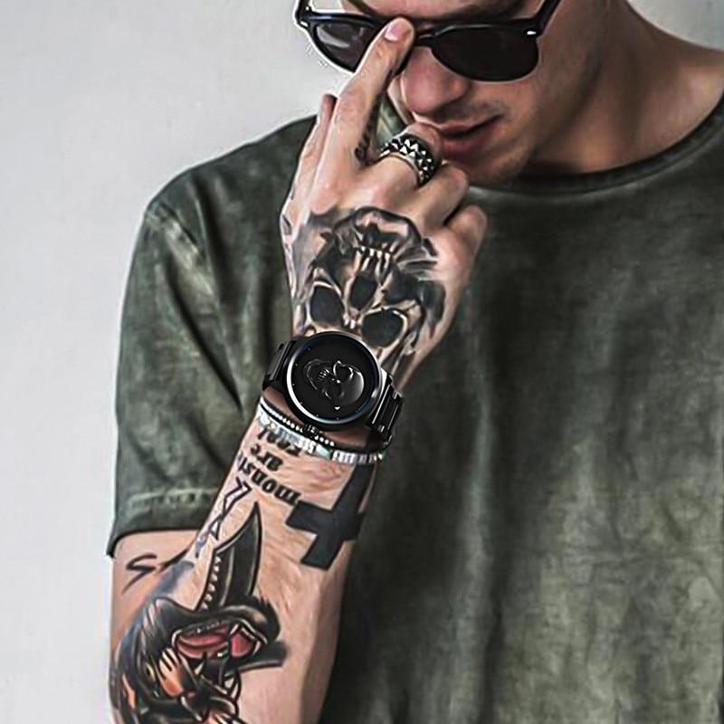 Pagani design relógio masculino crânio pirata à prova d3d água 3d dial relógios de quartzo marca superior relógio de luxo erkek kol saati relogio masculino