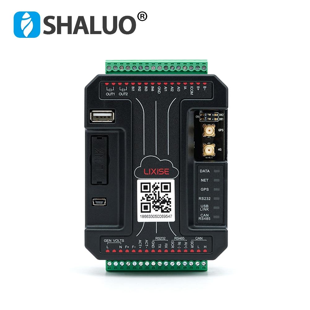LIXiSE LXI980-4G جميع Netcom الديزل وحدة تحكم بالمولد واي فاي ذكي جامع البيانات GSM متوافق العلامات التجارية المولد المراقب المالي