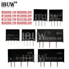 1PCS B0505S B1205S B1212S B2405S 1W 2W regulated power supply module Isolating Switching Power B0505
