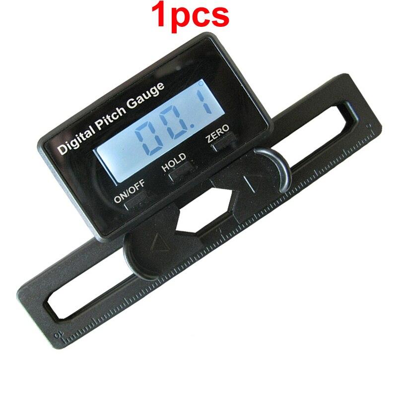 1 ud. Medidor Digital de inclinación DC 3V medidor de ángulo Horizontal transportador inclinómetro regla Digital electrónica con pantalla LCD fr RC Drone