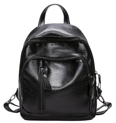 Ransel wanita PU kulit beg sandang perjalanan beg sandang gadis - Beg galas - Foto 4