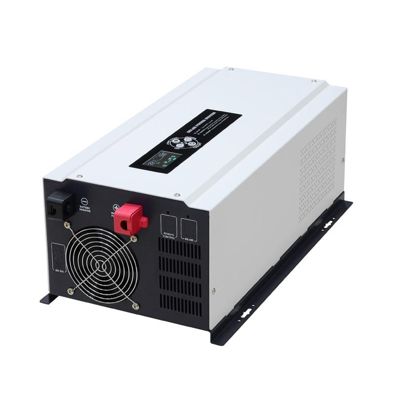عاكس الطاقة مع شاحن بطارية ، العاكس للطاقة الشمسية 12 فولت 24 فولت 1500 واط