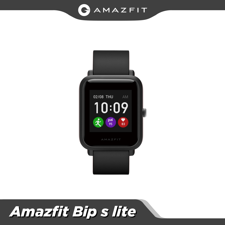 Resistência à Água Nova Versão Global Amazfit s Lite Bluetooth Smartver 5 Atm Push Mensagem Inteligente Notificação 2021 Bip