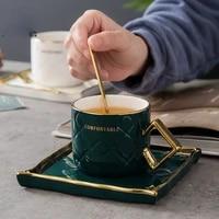 m creative gold plated handle tumbler water glass cup coffee cups saucers mug self stirring mugs phnom penh ceramic shot glasses