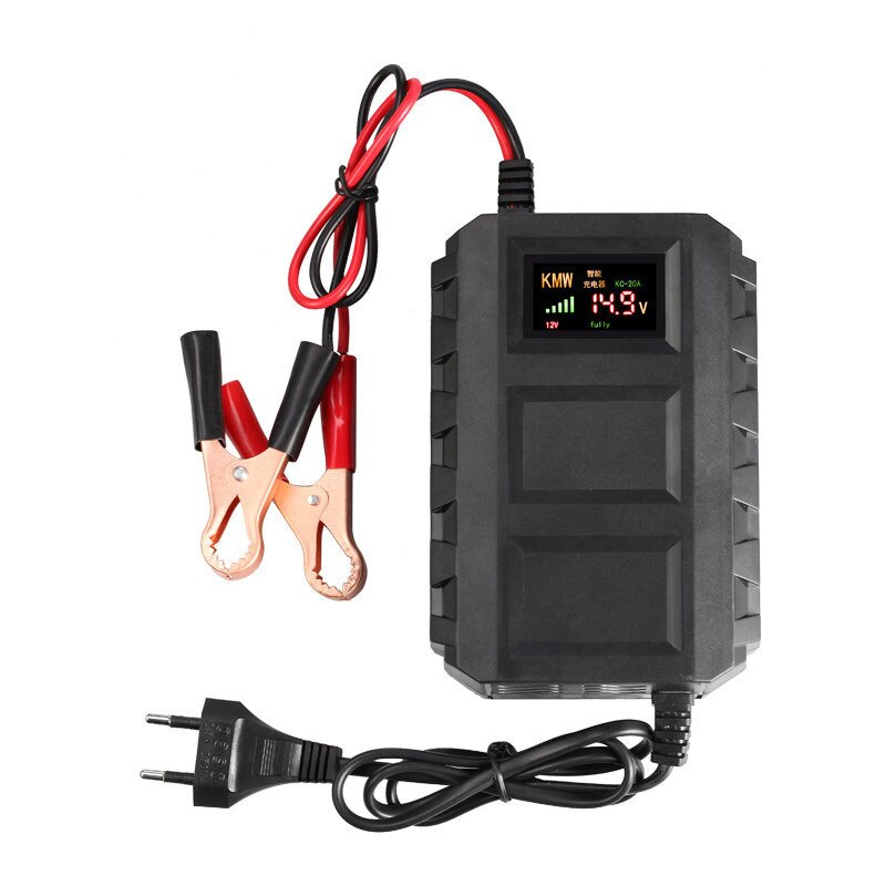 12v automatic lead acid battery charger 20a 12v 12V 20A Smart Battery Charger Car Lead Acid Battery Charger Dry Colloid Charger