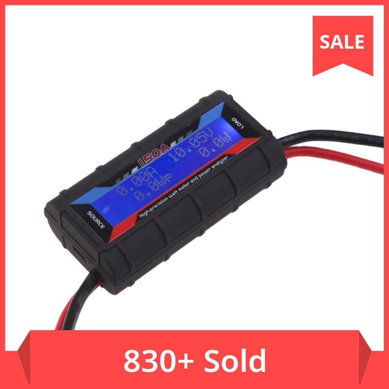 FT08 RC 150A High Precision Watt Meter and Power Analyzer w/ Backlight LCD electric analyzer digital wattmeter