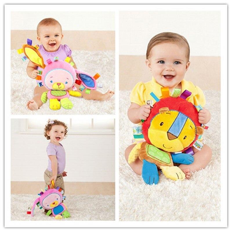 8 видов стилей, детские игрушки, погремушки, Успокаивающая кукла, плюшевые детские погремушки игрушки, животные, колокольчики, Newbron, животные, слон/обезьяна/Лев/Кролик
