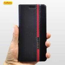 Deri kılıf kapak için Infinix sıcak 7 6 Pro 6X S3 X624 X625 X606 X608 X623 akıllı 2 3 HD pro X5515 X5514D X5516 X609 telefon kılıfları