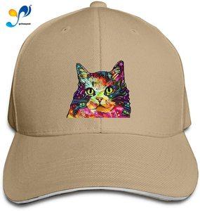 Persian Cat Art Men Cotton Classic Baseball Cap Adjustable Size