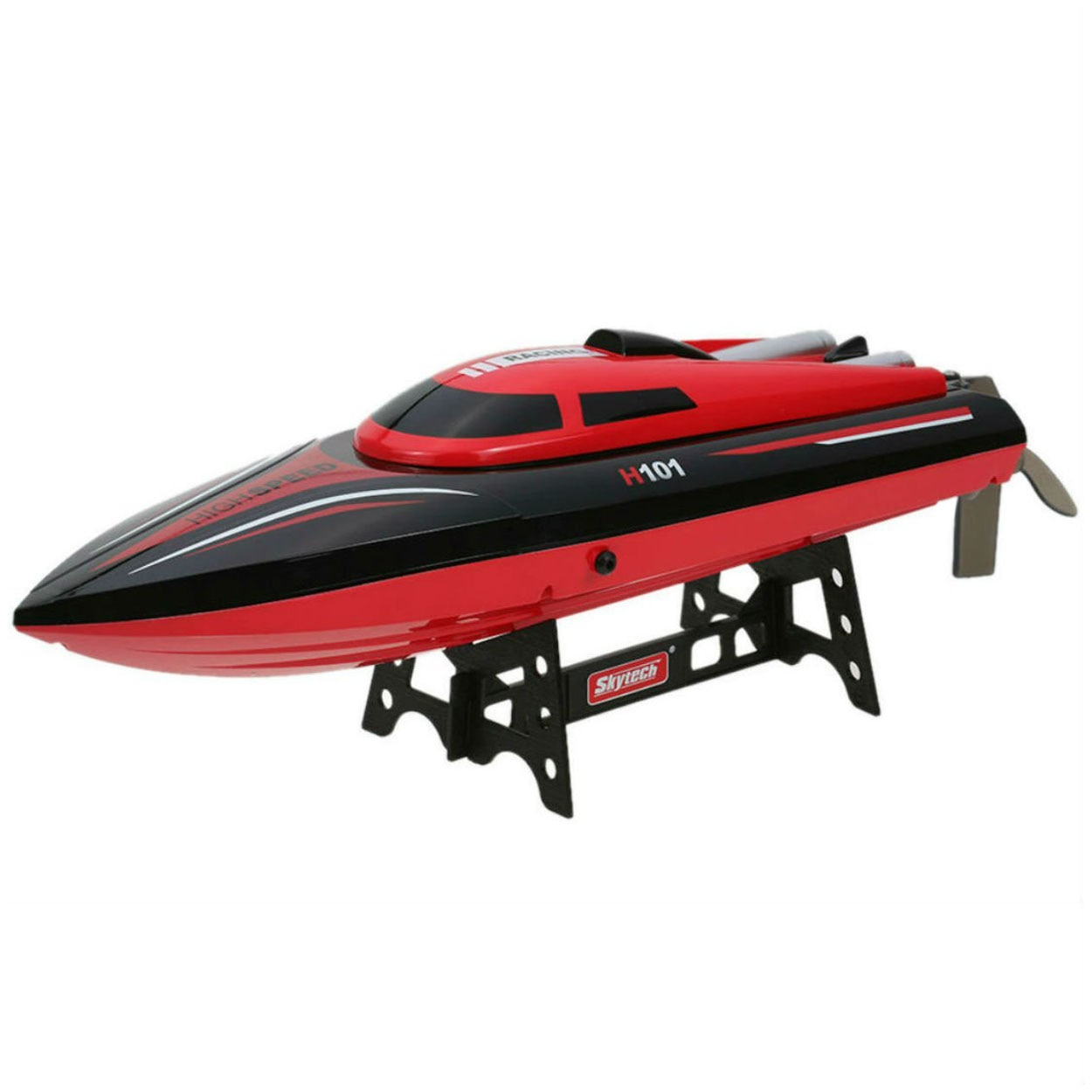 Newest Speedboat Outdoor H101 RC Boat 2.4G 30km/h High Speed Racing Remote Control Ship RC Steerable Boat For Boy Toys enlarge