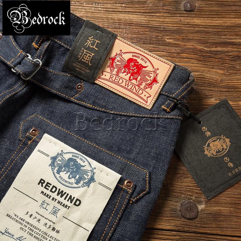 16,5 унции тяжелых немытых необработанных джинсов, прямые джинсы с Парижскими пуговицами, Реплика восходящих солнцезащитных джинсов для муж...