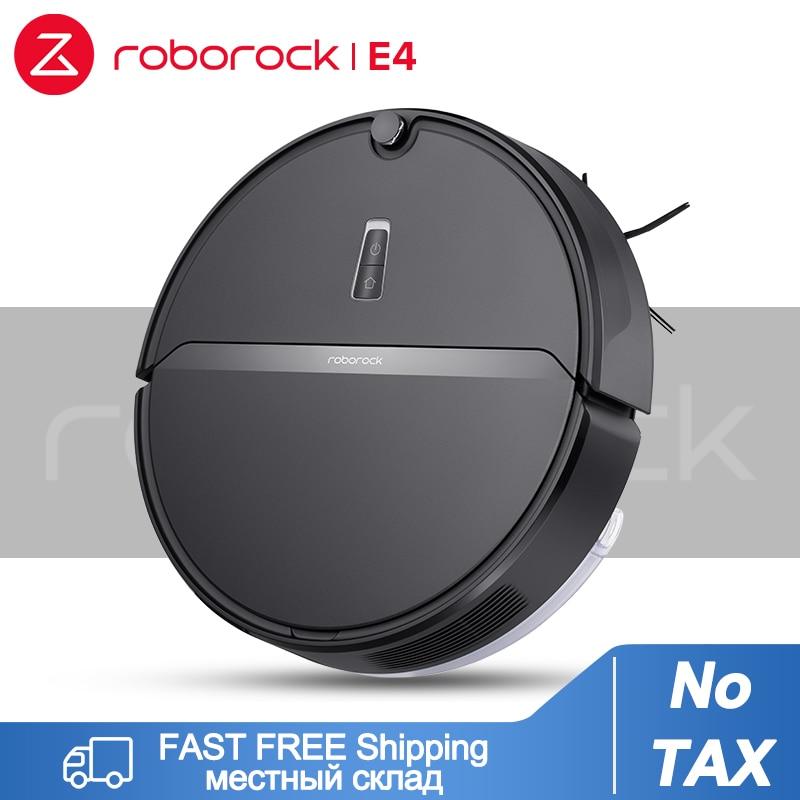 Roborock e4 robô aspirador de pó 2000pa sucção mop molhado varrendo tapete impulso funciona com alexa app controle ideal para animais de estimação cabelo