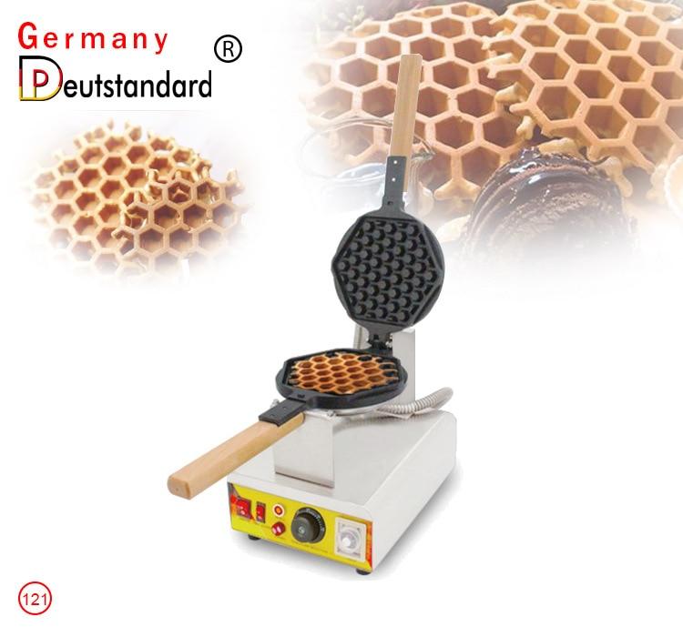 Hot Selling Mini HoneyComb Waffle Stick Maker Electric Honeycomb Shape Waffle Machine Bubble Waffle Maker Egg Waffle Maker недорого