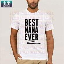 GILDAN marca de moda camiseta mujer mejor Nana nunca política manga corta Camisetas Universidad blanca