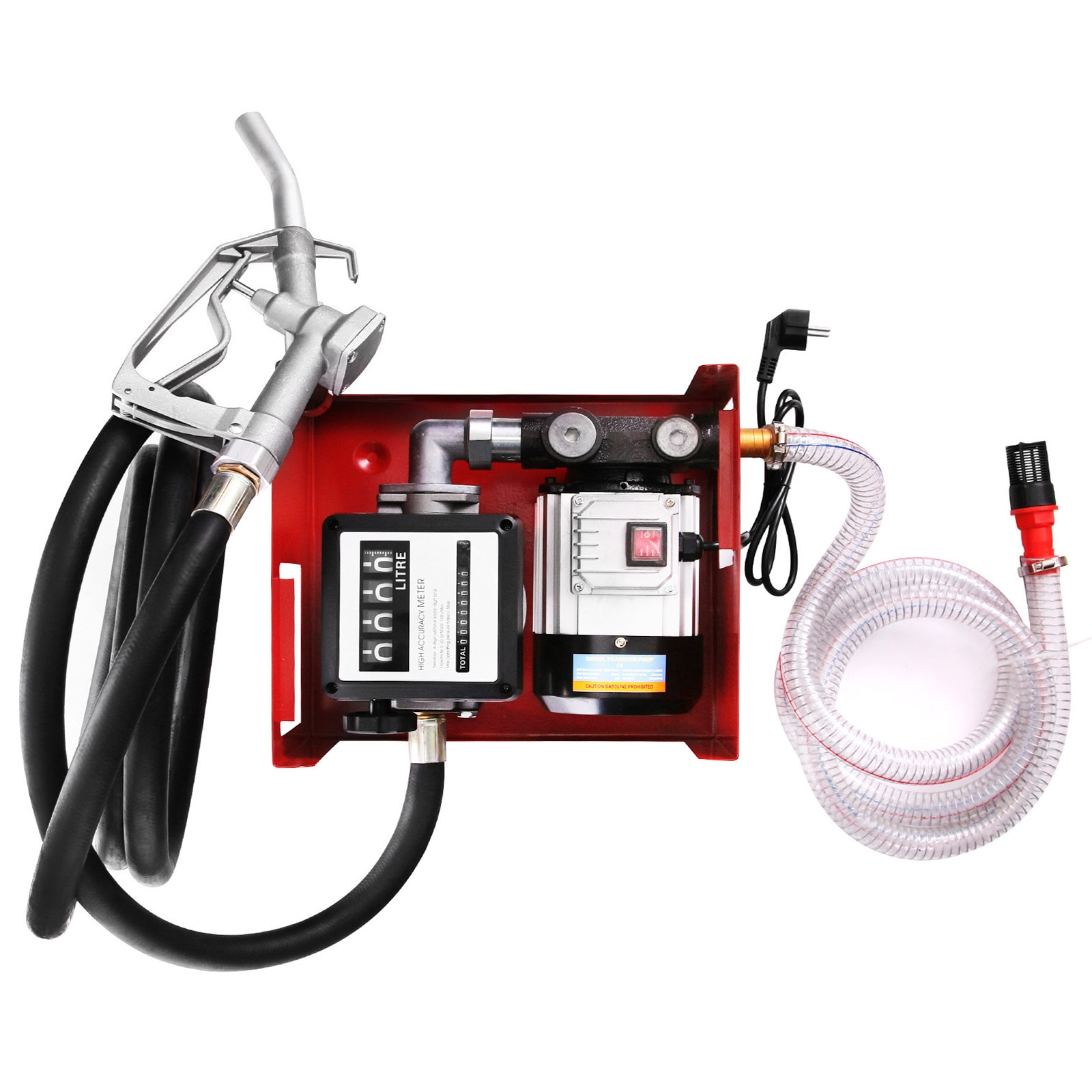 Disel Pump Heating Oil Pump 550 W 220 V Single Phase Motor for Blo-Fuel 60 L/min Electric Fuel Oil Pump enlarge